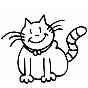 smiling_cat - Cheshire Cat Smile Coloring Pages