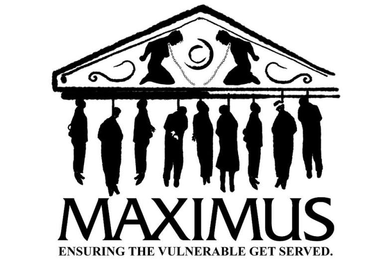 Maximus hanging figures