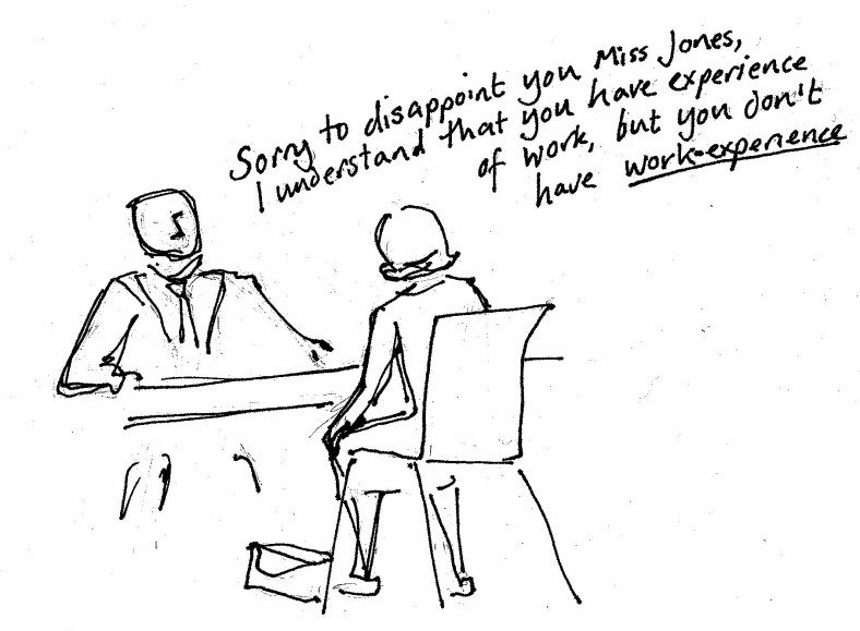 work experience cartoon_1