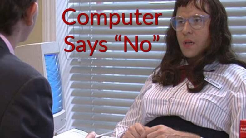 computer-says-no